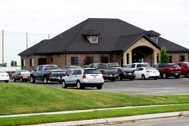 Clubhouse and Parking